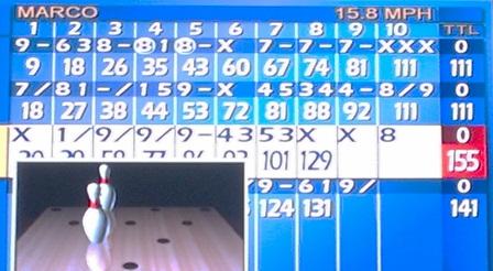 Score: Game 1 - Craig's Turkey