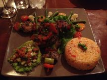 Antichucha is skewers of meat marinated in deliciousness