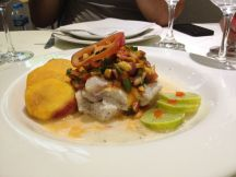 In ceviche, fish is fully cooked because its marinated in lime juice
