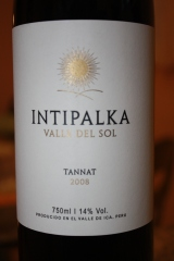 From Ica, a Tannat from Intipalka