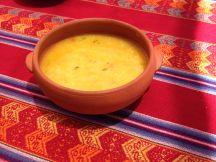 Quinoa and vegetables soup