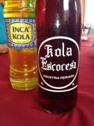 """Sweeeeeet soda called a """"scottish cola"""""""
